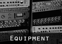 Equipment List including gear by IZ, Neve, API & Focusrite