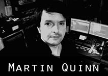 Martin Quinn Music Producer at JAM Recording Studios, Ireland